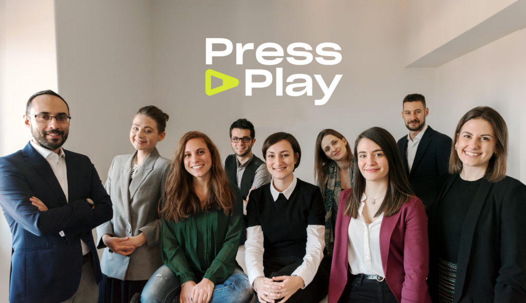 Agenzia Press Play il team