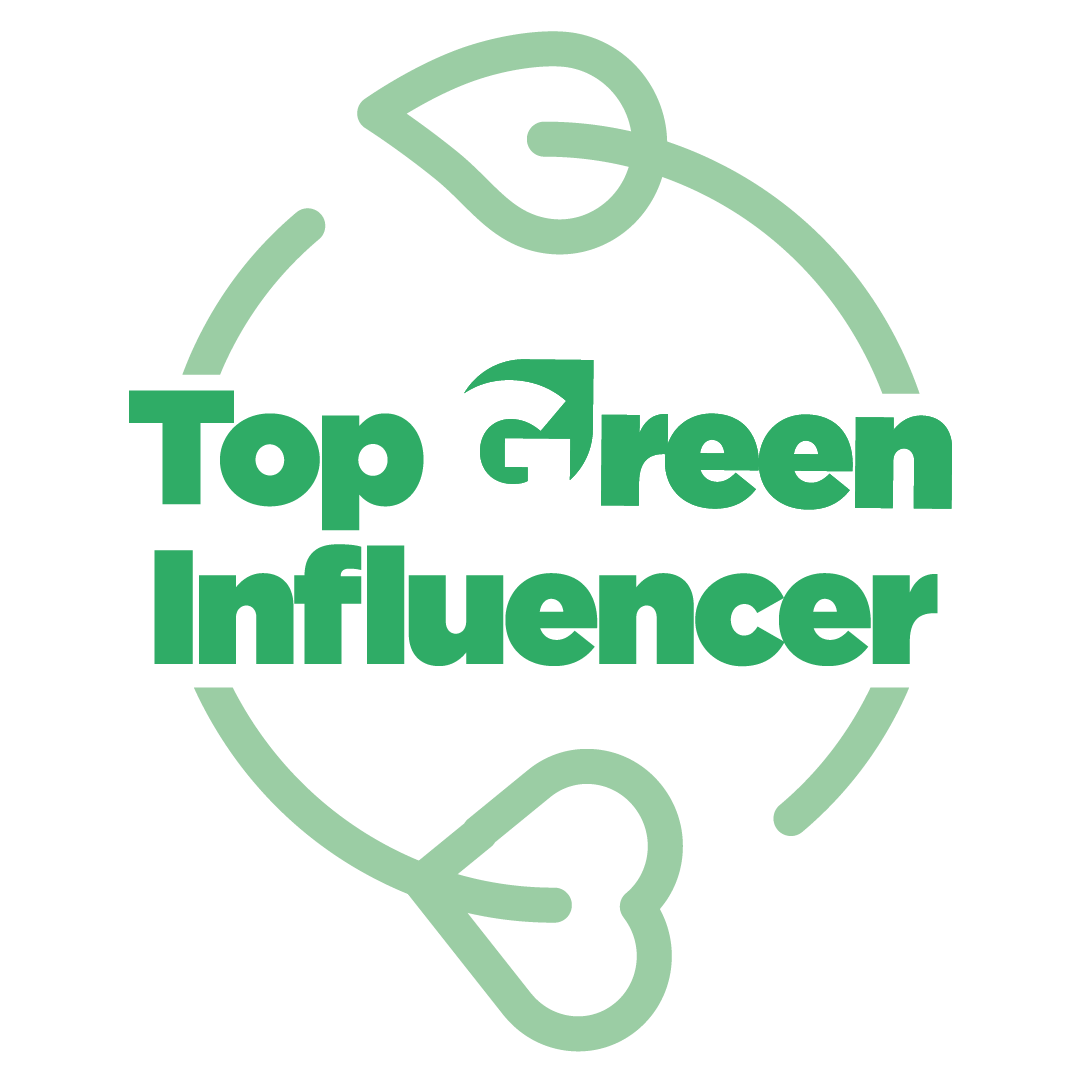 logo top green influencer